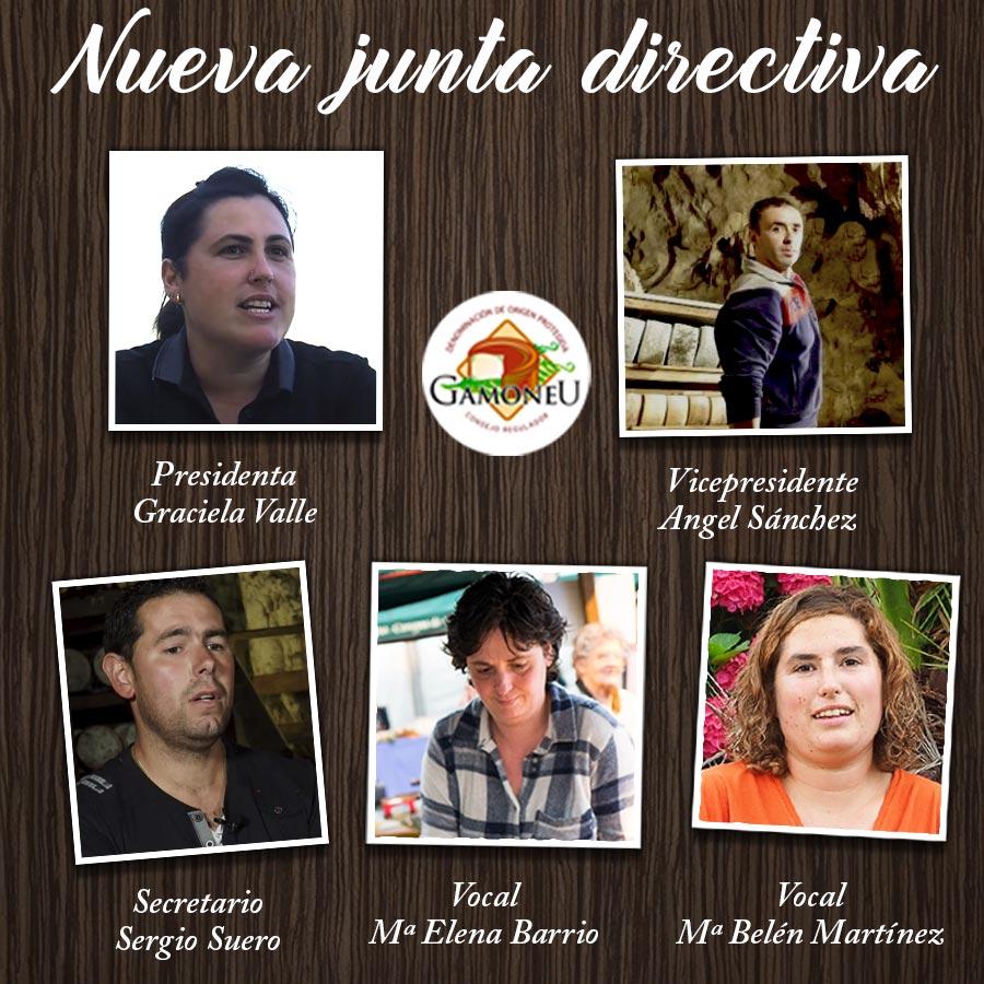 Nueva Junta Directiva DOP Gamonéu